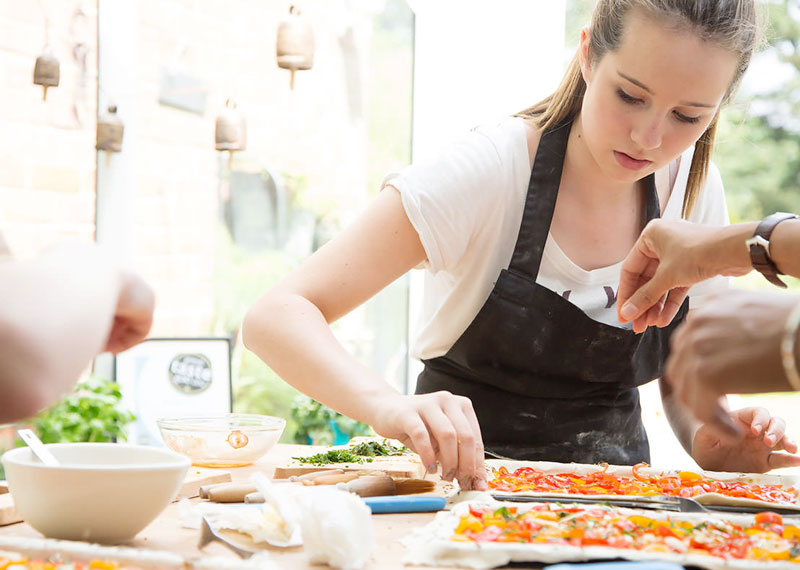 teenager-cooking